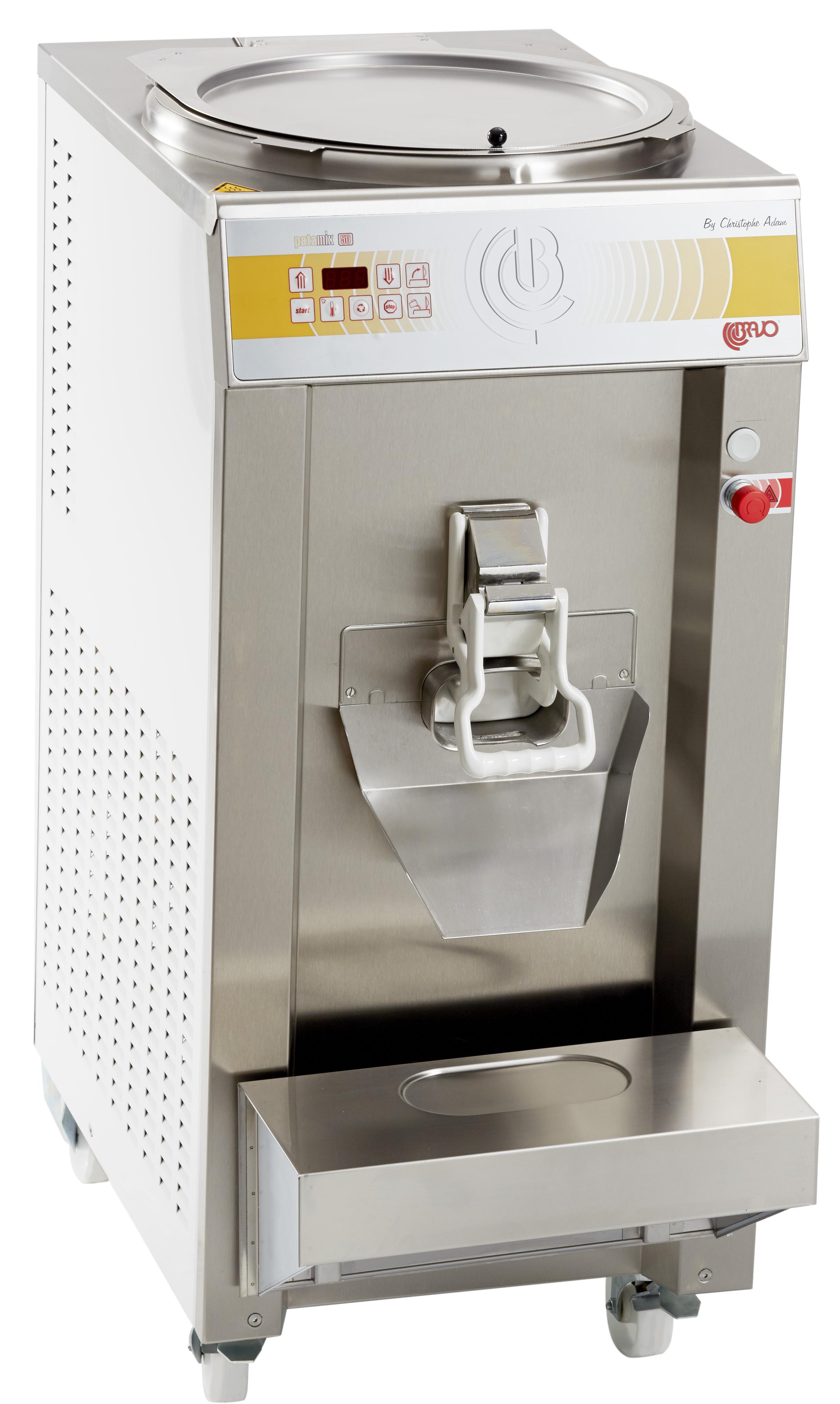 Maszyny do lodów i czekolady firmy bravo